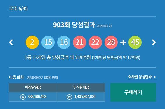 사진=로또당첨번호조회는 동행복권사이트(구 나눔로또)에서 결과를 알 수 있다.